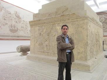 معبد رومی که از حفاری های کارتاژ به دست آمده